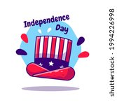 american hat independence day... | Shutterstock .eps vector #1994226998