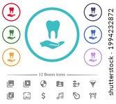 dental provision flat color... | Shutterstock .eps vector #1994232872