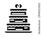cake wedding dessert glyph icon ... | Shutterstock .eps vector #1994311052