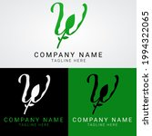 w logo abstract typography for... | Shutterstock .eps vector #1994322065