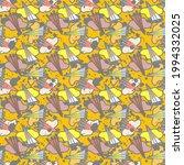 abstract cute modern seamles...   Shutterstock .eps vector #1994332025