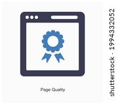 page quality and classification ... | Shutterstock .eps vector #1994332052