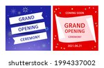grand opening banner design... | Shutterstock .eps vector #1994337002