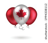 red and white balloons with the ... | Shutterstock .eps vector #1994338112