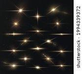 light rays of light horizontal... | Shutterstock .eps vector #1994339372