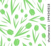 seamless pattern with green... | Shutterstock .eps vector #1994340818