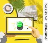 vector illustration of discount ... | Shutterstock .eps vector #1994345492