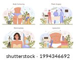 plastic surgery concept set....   Shutterstock .eps vector #1994346692