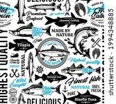 vector fish seamless pattern ...   Shutterstock .eps vector #1994348885