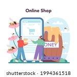hiver or beekeeper online... | Shutterstock .eps vector #1994361518