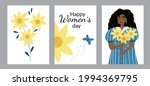 set of greeting cards with... | Shutterstock .eps vector #1994369795