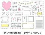 cute bullet journal element... | Shutterstock .eps vector #1994375978
