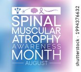 spinal muscular atrophy  sma ... | Shutterstock .eps vector #1994376632