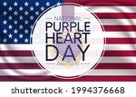 national purple heart day is... | Shutterstock .eps vector #1994376668
