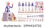 attractive old woman  elderly...   Shutterstock .eps vector #1994414732