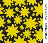 seamless vintage pattern... | Shutterstock .eps vector #1994415698