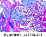 light blue  red vector doodle... | Shutterstock .eps vector #1994421875
