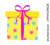 gift festive closed box with a... | Shutterstock .eps vector #1994429828