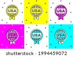 set medal with star icon... | Shutterstock .eps vector #1994459072