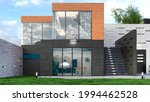exterior of modern living... | Shutterstock . vector #1994462528