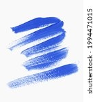 textured blue brush paint...   Shutterstock .eps vector #1994471015