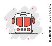 bus icon in comic style. coach...   Shutterstock .eps vector #1994473142