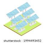 solar panel or photo voltaic...   Shutterstock .eps vector #1994493452