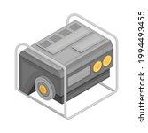 generator as electric power...   Shutterstock .eps vector #1994493455