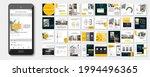 social media pack posts for...   Shutterstock .eps vector #1994496365