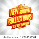 new autumn collections already... | Shutterstock .eps vector #1994499278