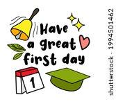 concept of education. school...   Shutterstock .eps vector #1994501462