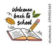 concept of education. school...   Shutterstock .eps vector #1994501465