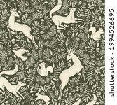 forest wildlife seamless... | Shutterstock .eps vector #1994526695