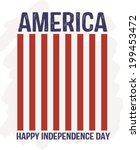 happy independence day  ... | Shutterstock .eps vector #199453472