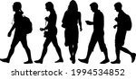 silhouette group of people... | Shutterstock .eps vector #1994534852