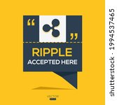 creative ripple icon with text  ... | Shutterstock .eps vector #1994537465