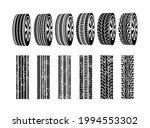 vector black rubber tyre...   Shutterstock .eps vector #1994553302