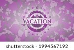 vacation pink on camouflaged... | Shutterstock .eps vector #1994567192