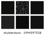 collection of monochrome...   Shutterstock .eps vector #1994597528
