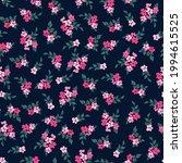 trendy seamless vector floral... | Shutterstock .eps vector #1994615525