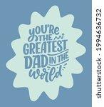 funny hand drawn lettering... | Shutterstock .eps vector #1994636732