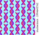 dna strand pattern seamless.... | Shutterstock .eps vector #1994645762