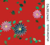 floral abstract background...   Shutterstock .eps vector #1994738792