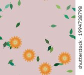 floral abstract background...   Shutterstock .eps vector #1994738798