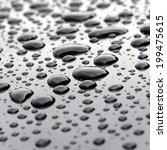big water droplets closeup on... | Shutterstock . vector #199475615