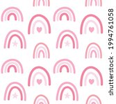 vector seamless pattern of pink ... | Shutterstock .eps vector #1994761058
