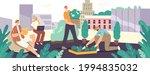 friends  neighbors or office... | Shutterstock .eps vector #1994835032