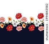 seamless textile flower border... | Shutterstock .eps vector #1994843582