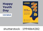 happy youth day modern party... | Shutterstock .eps vector #1994864282