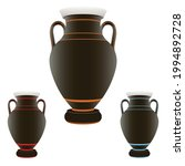 beautiful black vase  modern...   Shutterstock .eps vector #1994892728